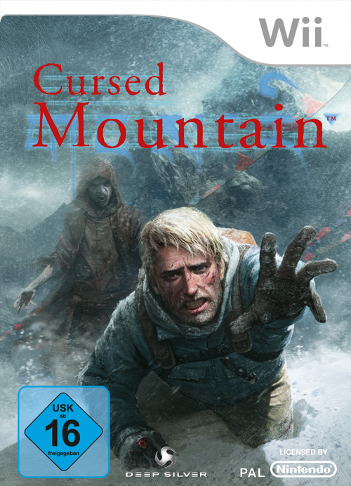 Cursed Mountain Packshot