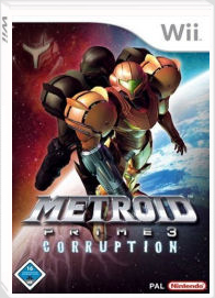 Metroid Prime 3: Corruption Packshot